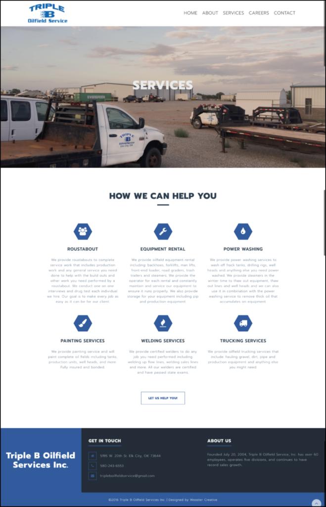 triple-b-services-oilfield-website-design-branding