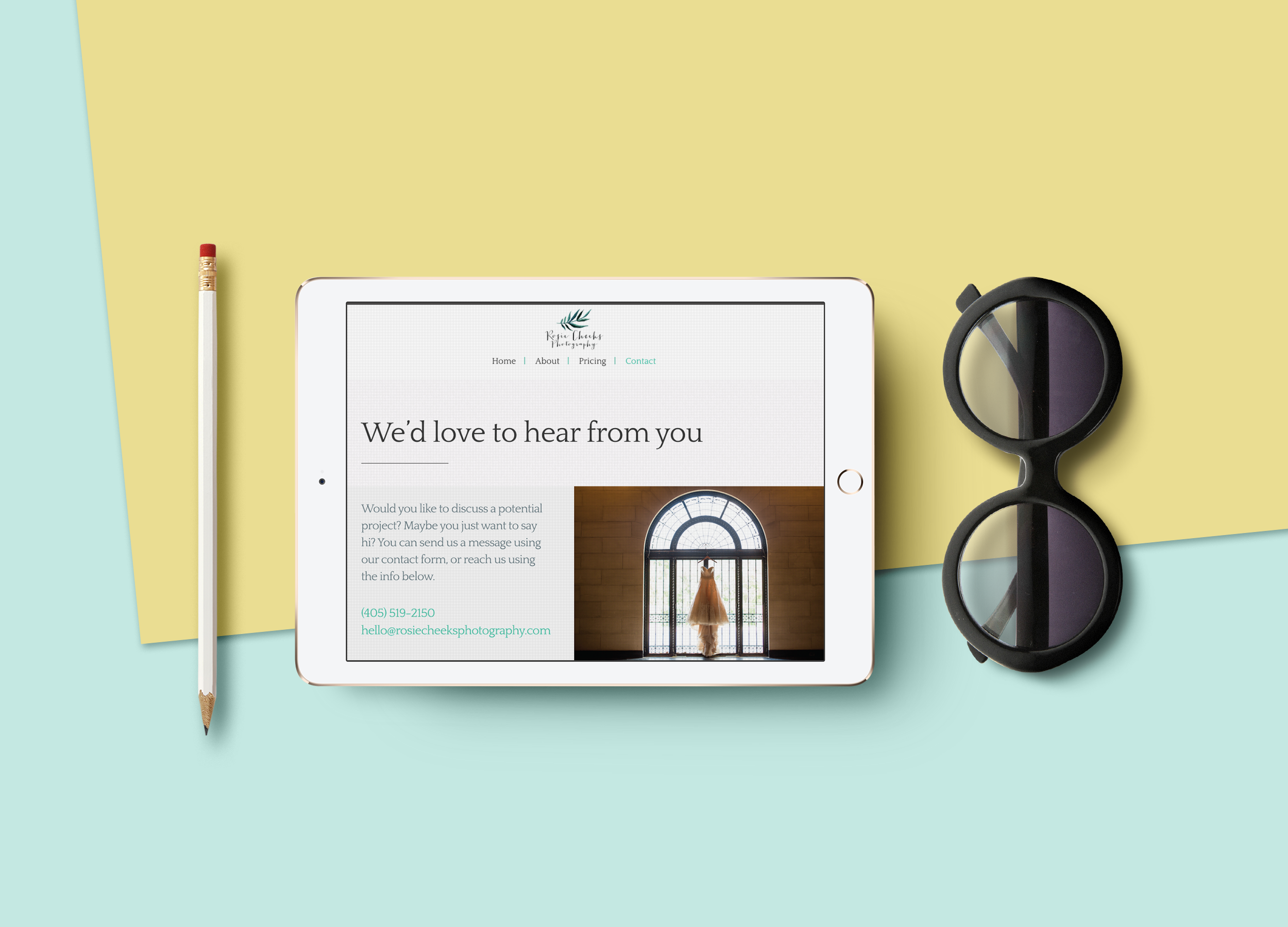 Wooster Creative Web Design for Weddings