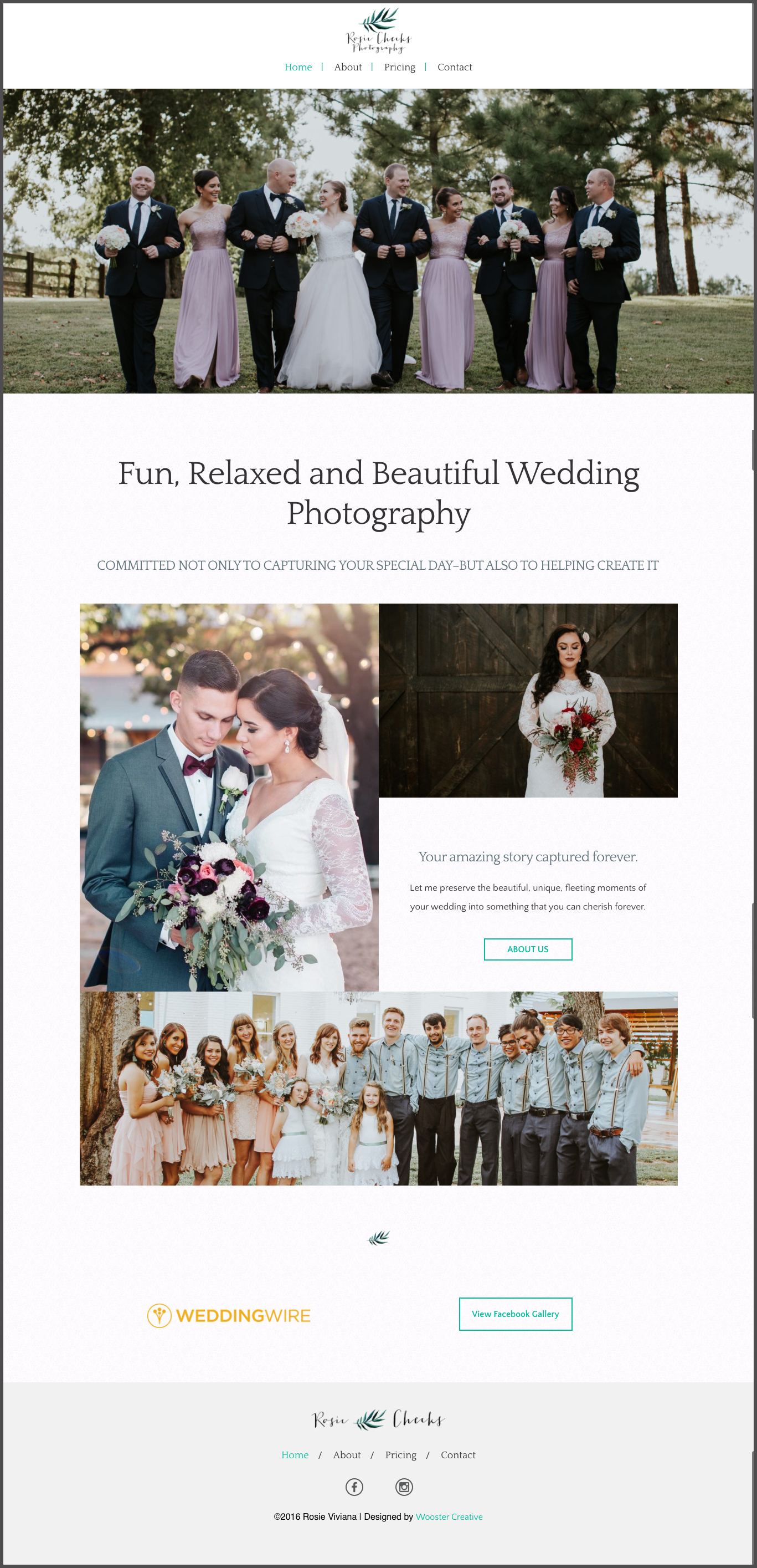 wedding photography web design oklahoma city