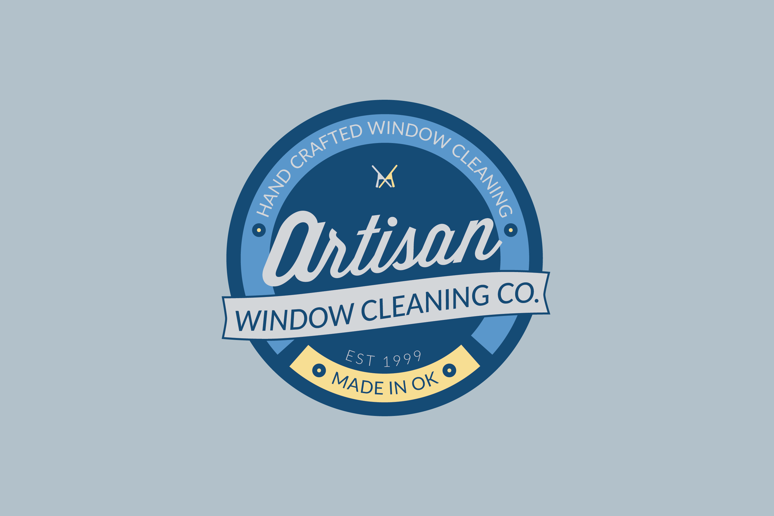 window cleaning company website design oklahoma city