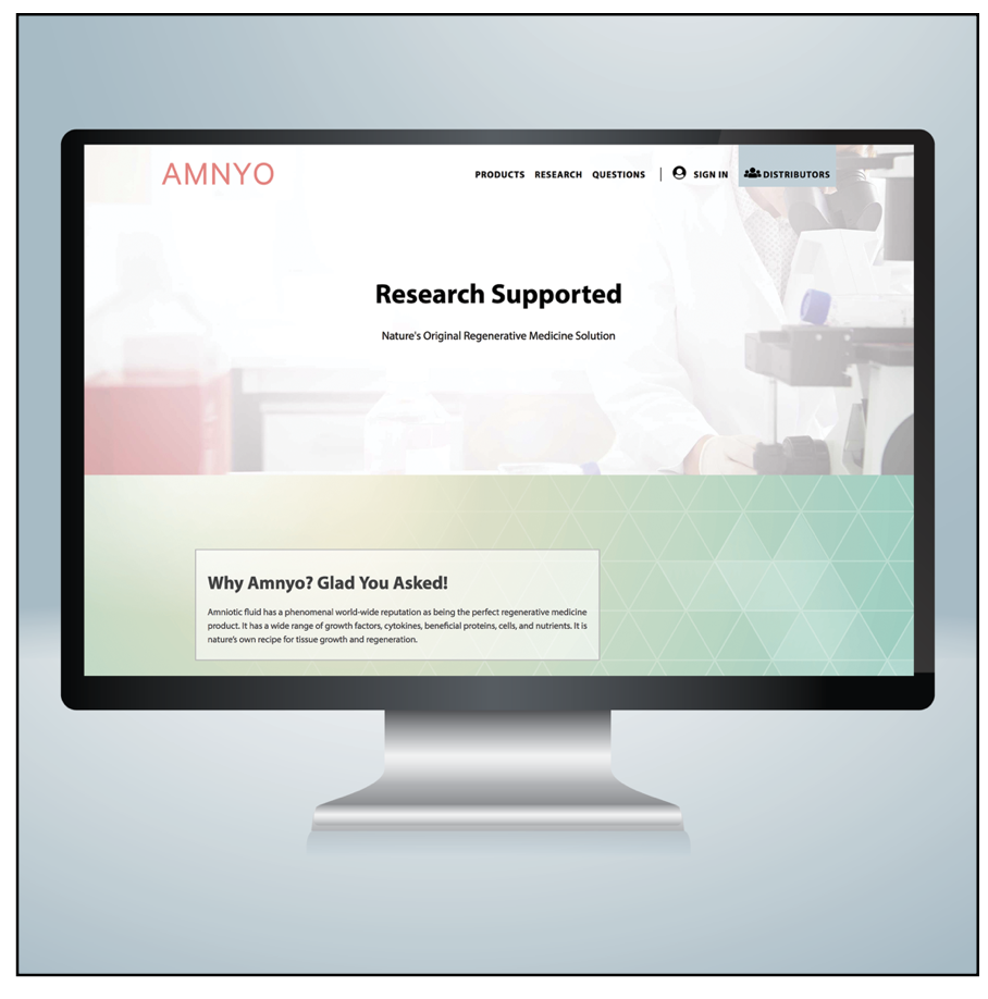 website design for Amnyo - website design OKC - wordpress design and development company okc